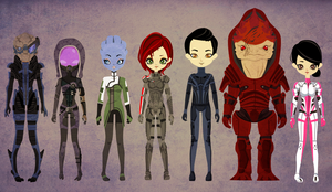 Mass Effect - Poupee by Shadow-People