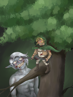 LoZ: Out on a Limb by SailorSun546
