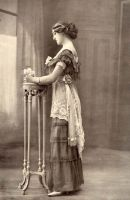 Vintage fancy edwardian lady 2 by MementoMori-stock