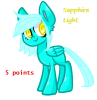 Sapphire Light Adopt [CLOSED] by Pastel-Horrors