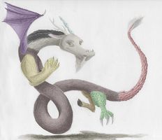 Discord In Pencil (Color) by Sols447