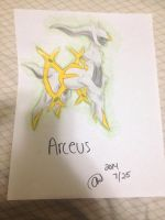 Pokemon : Arceus~ by animelover287