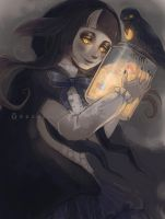 Witch of the New Moon [+SPEEDPAINT] by DrawKill