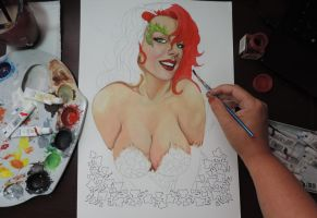 Poison Ivy very sexy. by leidanogueira