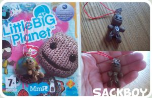 Sackboy Phone Charm by kangel