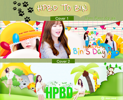 [SHARE PSD 03] Pack Cover Zing - HPBD TO BIN by pomzwon01