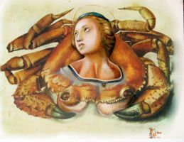The Crab Madonna by LMarkoya