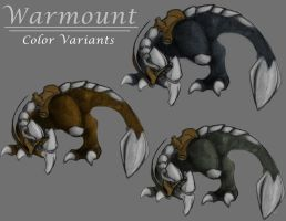 Warmount WIP - Color Variants by Shoju