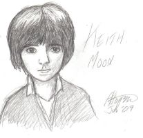 Keith Moon... by little-ampharos