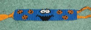 Cookie Monster Bracelet by R-R-RADICAL