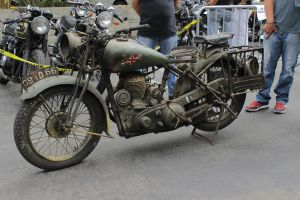 World War 2 Royal Enfield Motorcycle by alucard214