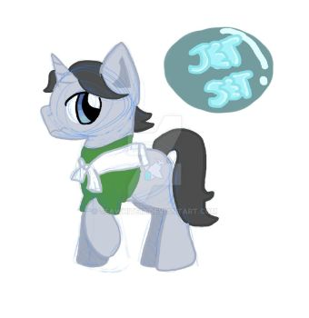 Jet set Pony by teawhite12