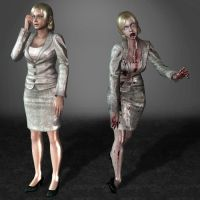 Dead Rising Jessica McCartney by ArmachamCorp