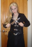 ..Knife Girl 1.. by Bloody-Kisses-STOCK