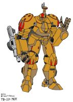 TR-001 Titan Combat Robot-2 by Gundam-Chief