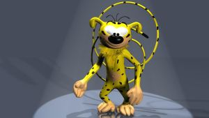 Marsupilami 3D by 3DSud