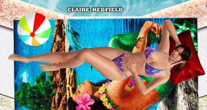 Claire Redfield    POOL-POSE by blw7920