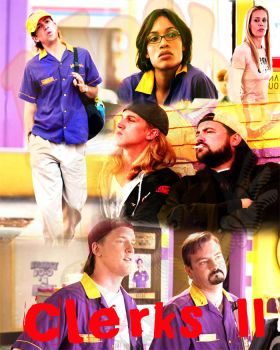 Clerks II poster by AiCandy