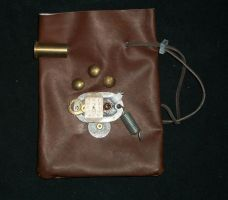 Steampunk Large Pouch 3 by PracticallyGeeky