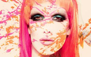 ... cover me in blush by FashionVictim89