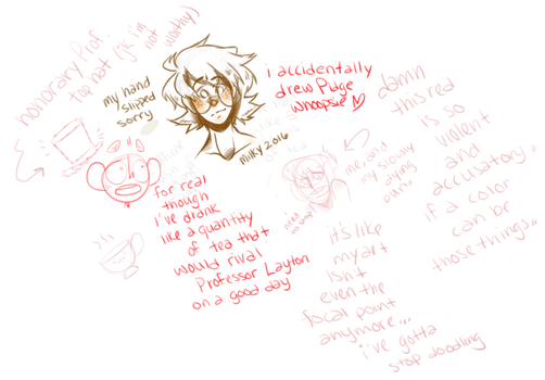 I Accidentally Drew Pidge,, and some other stuff by spazzmatron
