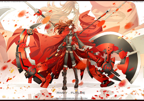 RWBY-Future : Ruby Rose by dishwasher1910