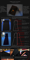 Simple Coat Tutorial: Yuu Kanda - D.Gray-Man. by neptunyan