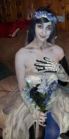 the corpse bride cosplay by CosplayQueendom