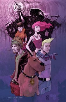 Scooby Gang by Walter-Ostlie