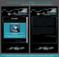 Goodnight Moon FREE Journal Skin by BloodshotInk