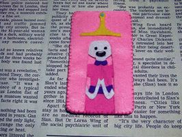 Princess Bubblegum felt phone case by shaiisawyer
