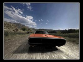 Dodge Charger 3 from GT4 by D4v3yTh3D0rk