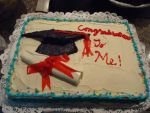 Graduation Cake by peACeFrOG143