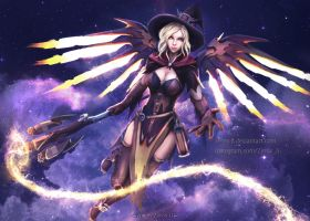 Witch Mercy Fan Art V2 by Zerox-II