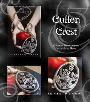 Alice Cullen Necklace Crest