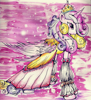 The coronation of Princess Cadance by XxsilvixX