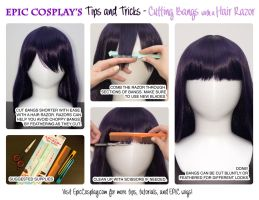 Bangs Razor by EpicCosplayWigs