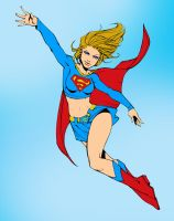 Super girl!!! by ArlanEAkyl
