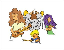 BEANS - BAND DOODLE by kit07