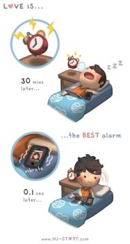 Love is... Best Alarm by hjstory