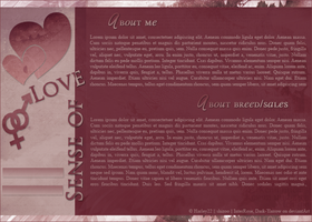 Love me Layout by crystalcleargfx
