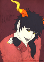 homestuck OC by Lineartt