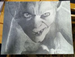 Gollum by kylepeterson24