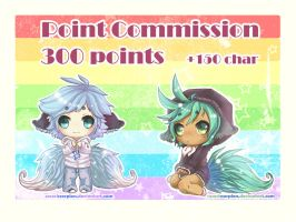 chibi pion commission 3 slots open by GoodBluePerson