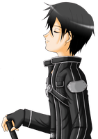 Sword Art Online - Kirito by Yugoku-chan