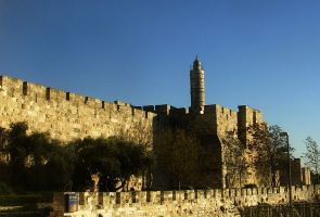 City Walls and Tower of David by Gianni36