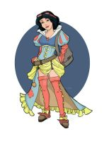 Steampunk Snow White 2 by khallion