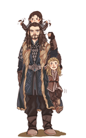 uncle Thorin by seki0930