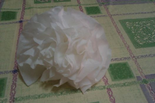 Flor hecha con papel by Nynguno
