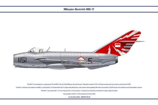 MiG-17 Indonesia 3 by WS-Clave